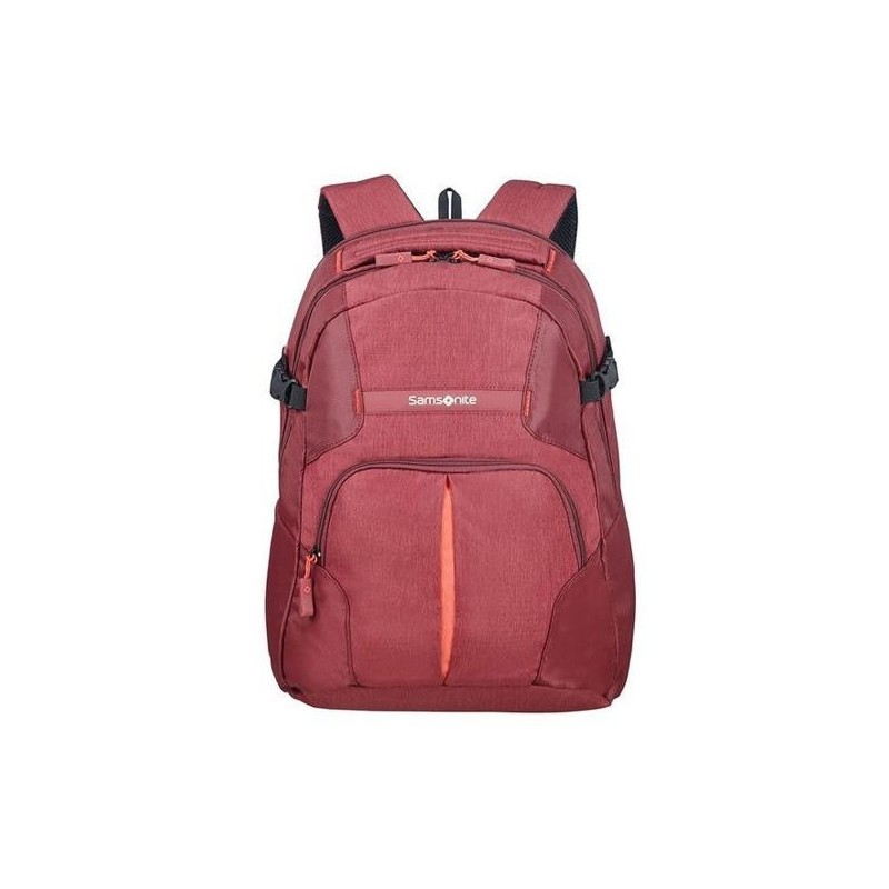 Backpack SAMSONITE 10N10002 REWIND M 15,6' comp, tblt, doc. pock, granita red 10N-10-002