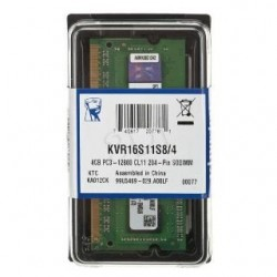 Kingston SODIMM DDR3 4GB KVR16S11S8/4