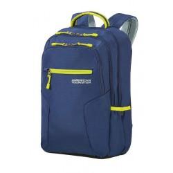 Backpack American Tourister 24G61006 UG6 15.6' comp, docu, pockets, Navy/Lime 24G-61-006