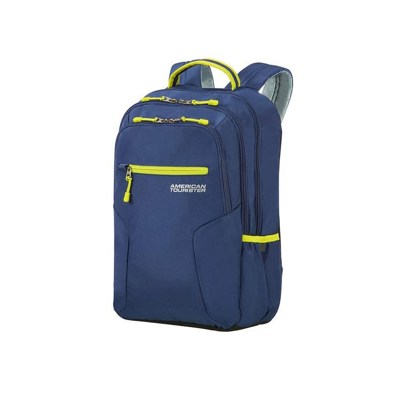 Backpack American Tourister 24G61006 UG6 15.6' comp, docu, pockets, Navy/Lime 24G-61-006