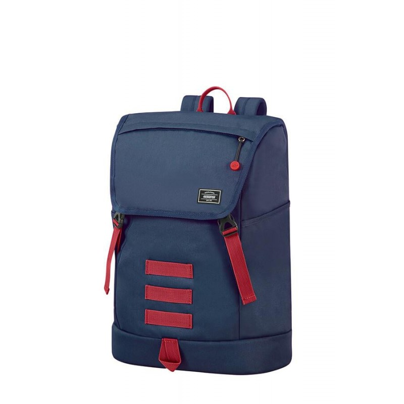 Backpack American Tourister 24G41024 UG3 LIFESTYLE 15.6' comp,doc,pock,navy/red 24G-41-024