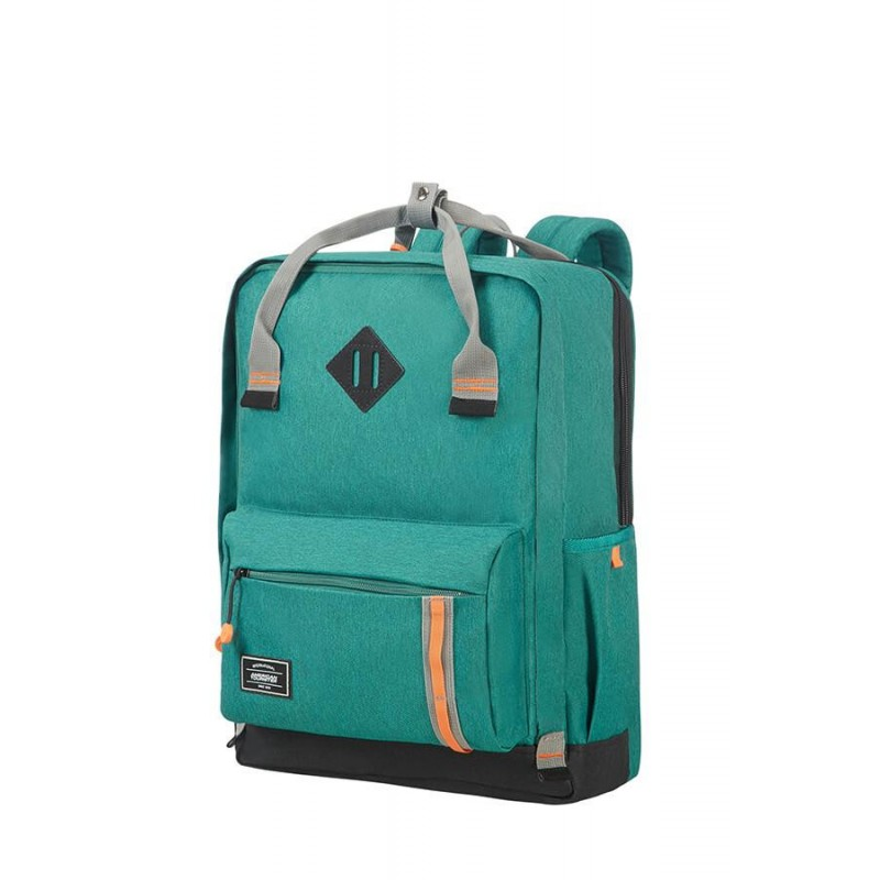 Backpack American Tourister 24G04026 UG5 17.3' comp, docu, pockets, green 24G-04-026