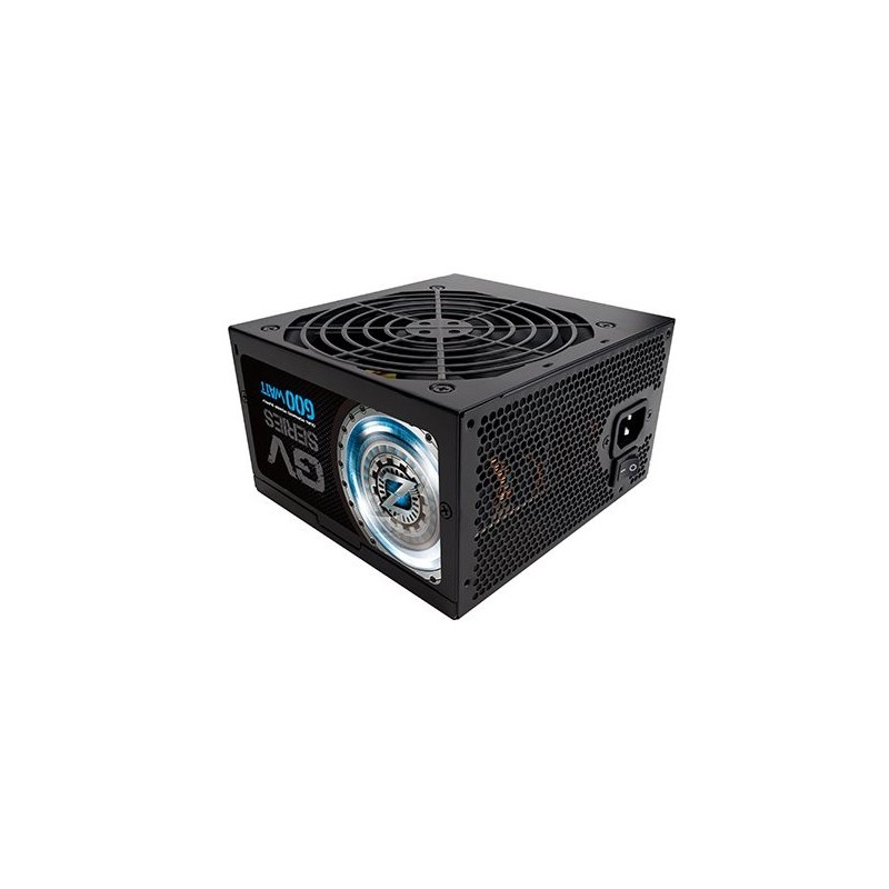 ZALMAN zdroj 600W eff 88% 80Plus Bronze, ZM600-GV, ATX12V, PFC, 120mm ventilátor