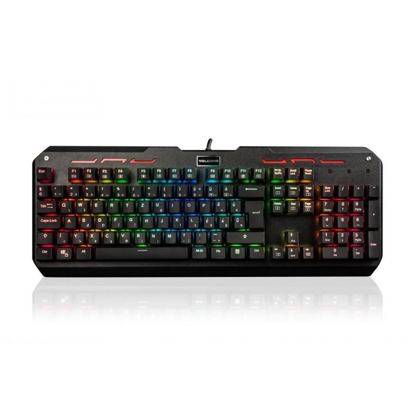 MODECOM klávesnica VOLCANO HAMMER RGB Brown Outemu Switch, HU Layout K-MC-HAMMER-U-BROWN-RGB-HU
