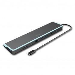 i-tec USB-C Flat Dokovací stanice + Power Delivery 60W C31FLATDOCKPDV2
