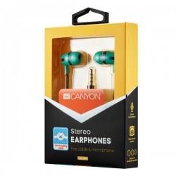 Canyon CNS-CEP4G štýlové slúchadlá do uší, pre smartfóny,...