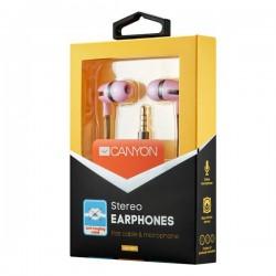 Canyon CNS-CEP4RO štýlové slúchadlá do uší, pre smartfóny,...