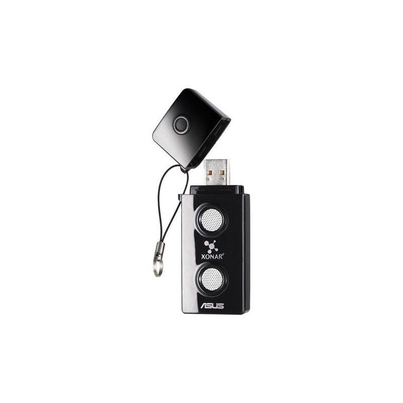 ASUS Xonar U3, externá zvuková karta, USB, Retail 90-YAB620B-UAN0BZ