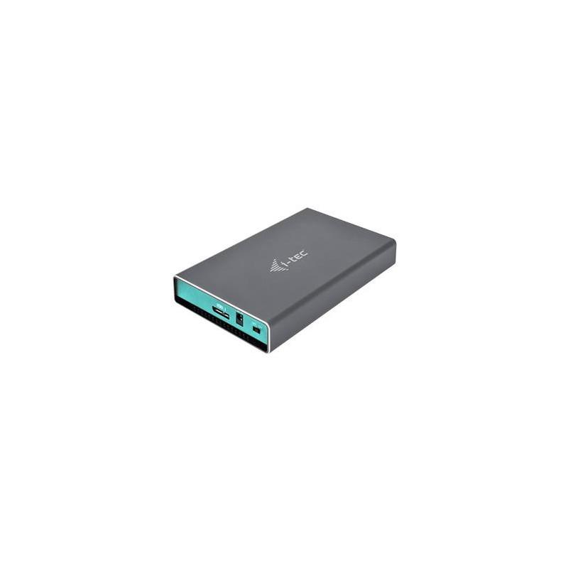 """i-tec MYSAFE USB 3.0 1x 2.5"""" HDD SATA external CASE U3MYSAFE025"""