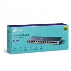 TP-Link Switch 16-Port/100/1000Mbps/Rack TL-SG116