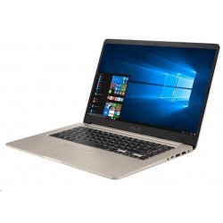 "ASUS VivoBook S510UA-BQ984T i3-8130U(3.40GHz) 4GB 256GB SSD 15.6"" FHD matný integr.graf. Win10 Home zlatý"