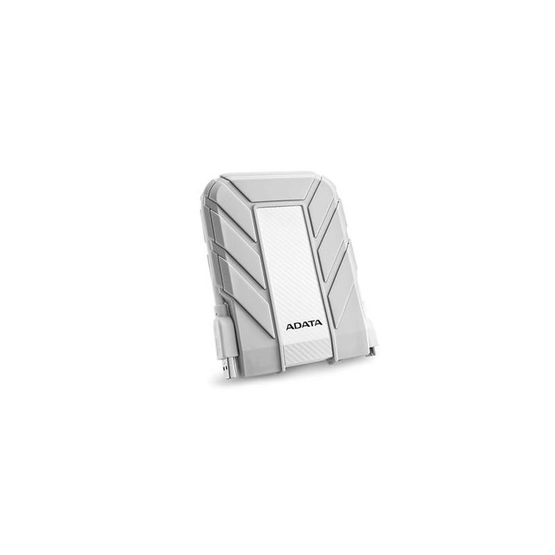 "ADATA DashDrive Durable HD710A 2,5"" externý HDD 1TB USB 30 biely, vode a nárazom odolný, pre MAC AHD710A-1TU3-CWH"