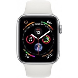 APPLE Watch SERIES 4 GPS Si ALU Case Wh Sport 40mm MU642VR/A