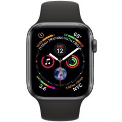 APPLE Watch SERIES 4 GPS Sp ALU Case Bl Sport 40mm MU662VR/A