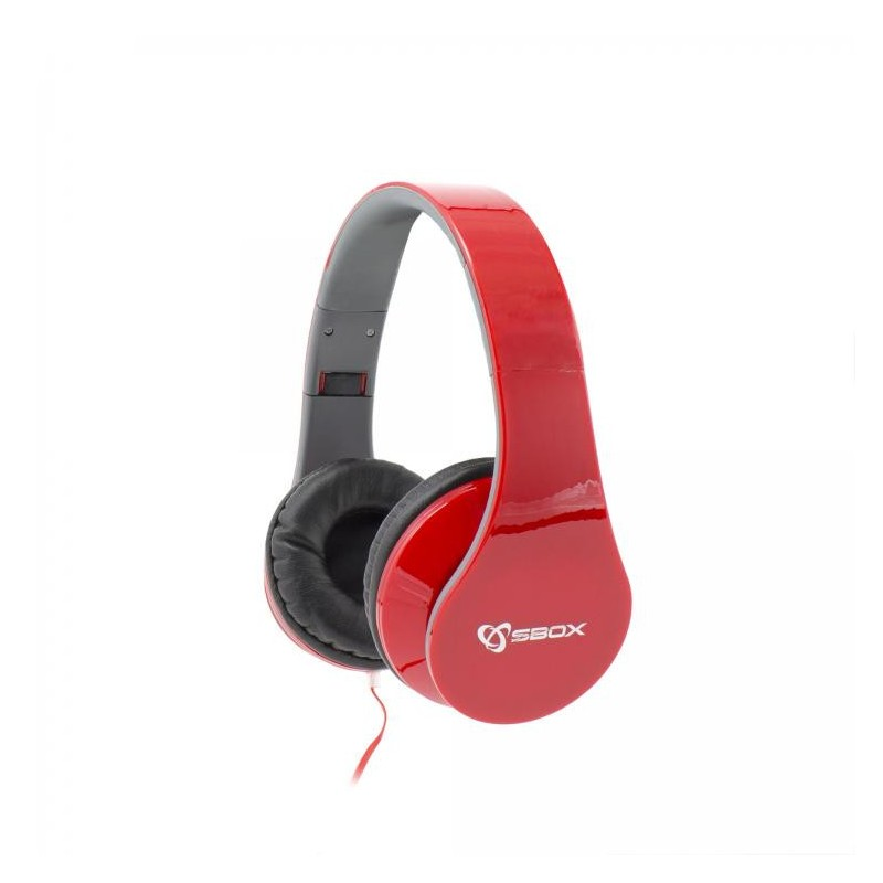 SBOX Headset HS-501 RED HS-501R