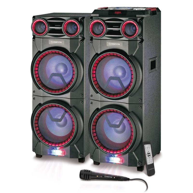 MANTA Karaoke reproduktor 160W BT SPK6013
