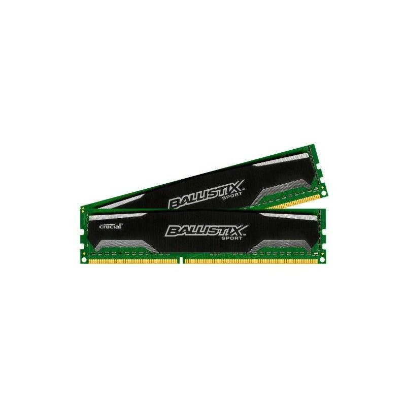 CRUCIAL Ballistix SPORT 16GB (2x8GB)/DDR3/1600MHz BLS2KIT8G3D1609DS1S00