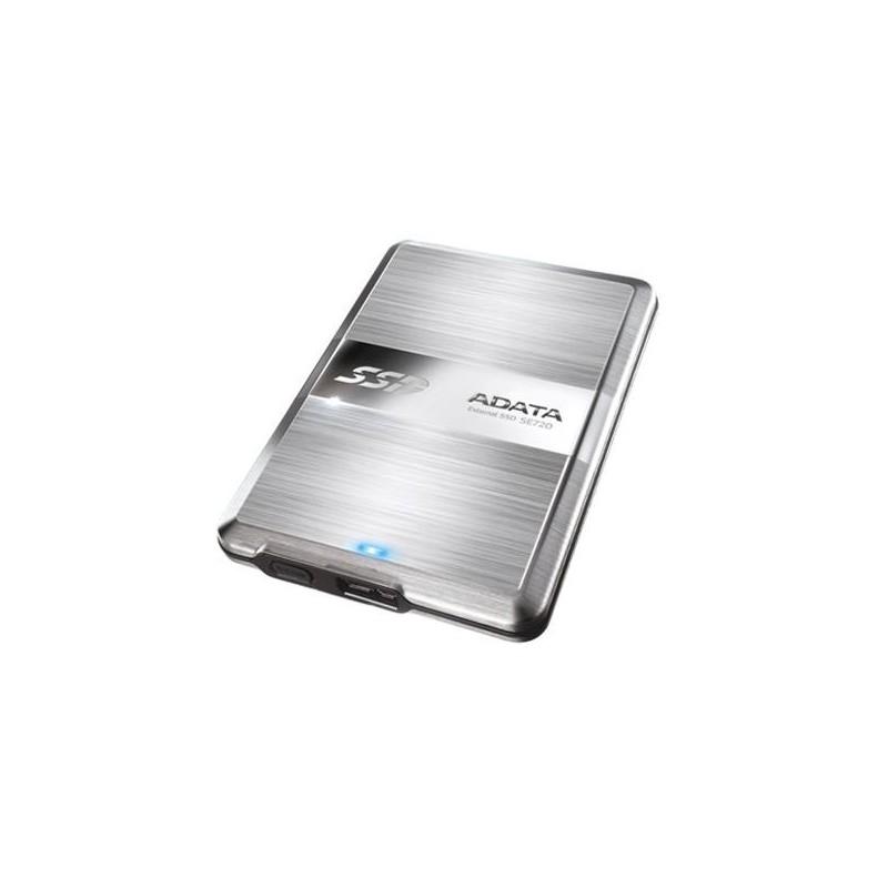 ADATA 128GB SSD SE720 Series USB 30 6Gb/s, externy SSD Read: 300MB/s, Write: 400MB/s ASE720-128GU3-CTI