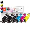 PEACH Canon PGI-520/CLI-521, PEA, Multi-Plus PI100-247