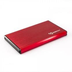 "SBOX 2,5"" HDD Case HDC-2562 / USB-3.0 Red HDC-2562R"