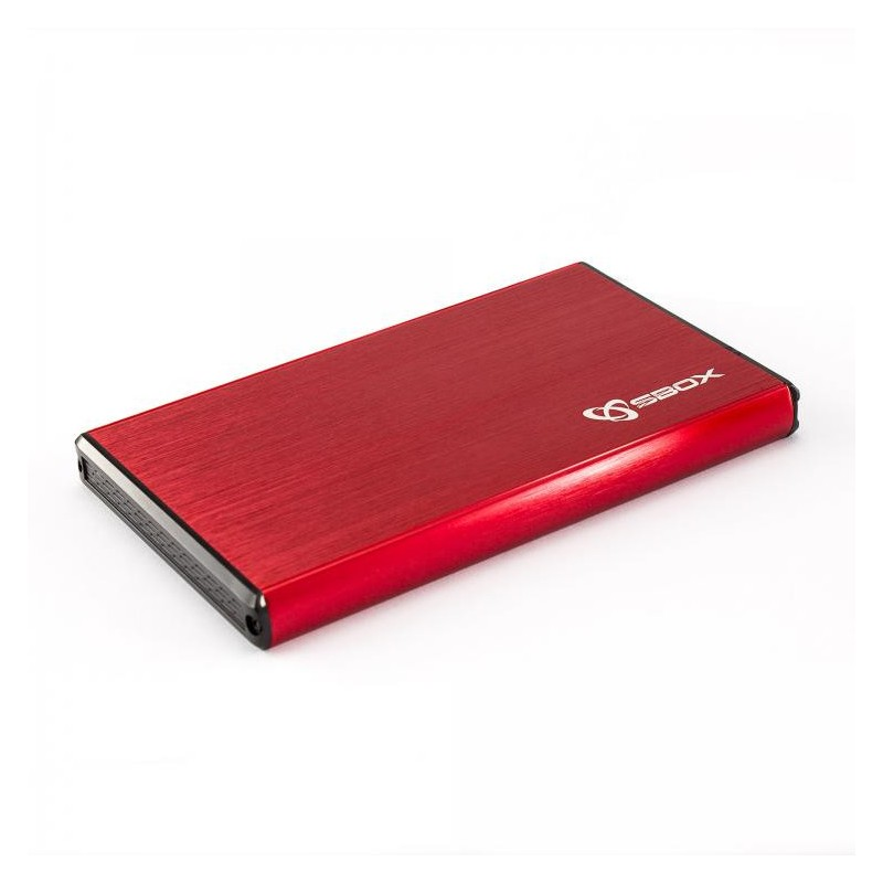 "SBOX 2,5"" HDD Case HDC-2562 / USB-3.0 Red HDC-2562R"