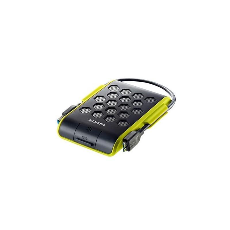 """A-DATA DashDrive Durable HD720 2,5"""" externý HDD 1TB USB 30 zelený, vode a nárazom odolný AHD720-1TU3-CGR"""