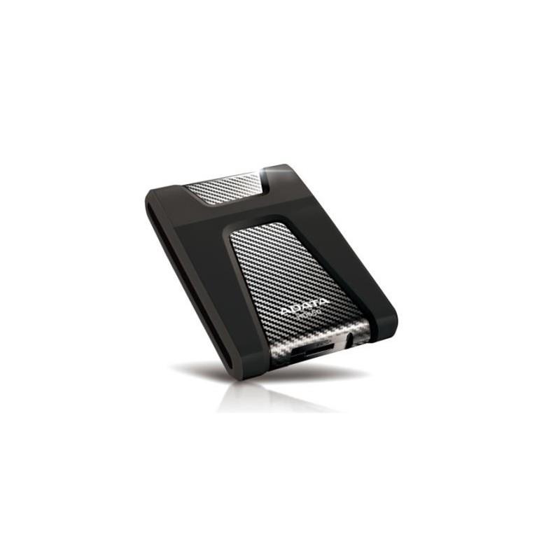 """A-DATA DashDrive Durable HD650 2,5"""" externý HDD 2TB USB 30 čierny, odolný voči otrasom AHD650-2TU3-CBK"""
