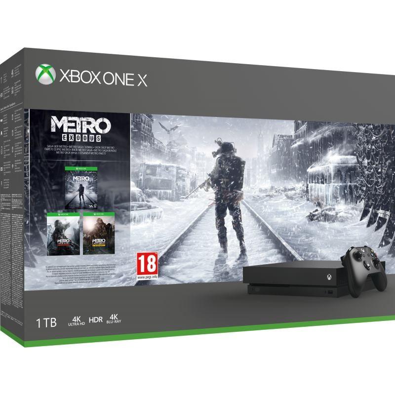 XBOX ONE X 1TB + Metro Exodus CYV-00288