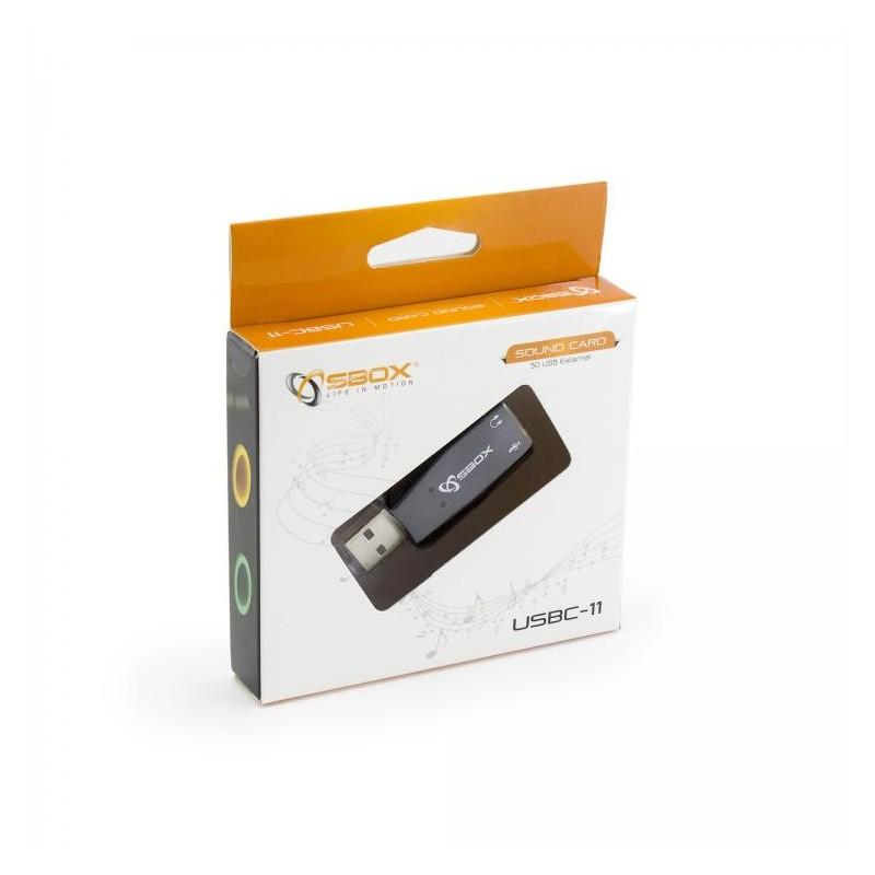 SBOX USBC-11, Sound adaptér 5.1/3D