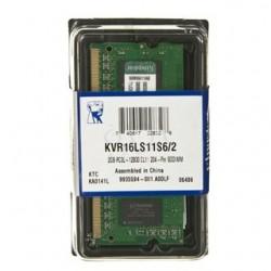 SO DIMM - KINGSTON DDR3 2GB KVR16LS11S6/2