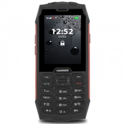 MYPHONE HAMMER 4 Dual Sim red TELMYHHA4RE
