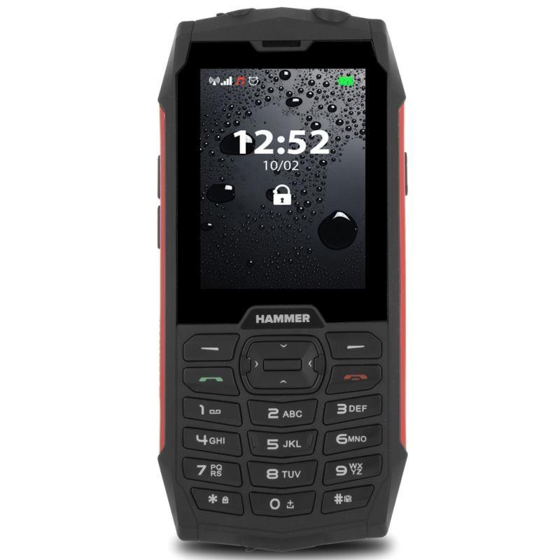 MYPHONE HAMMER 4 Dual Sim red TELMYHHA4RE