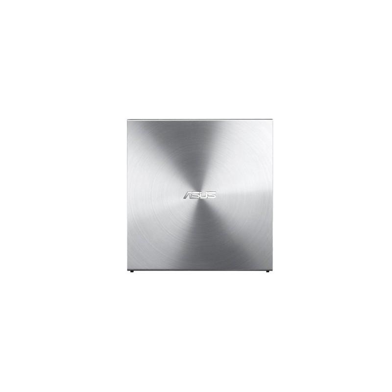 ASUS External Slim SDRW-08U5S-U/SIL/G/AS, Retail, strieborná 90DD0112-M29000