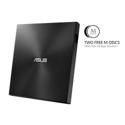 ASUS External Slim SDRW-08U7M-U/BLACK/G/AS, Retail, čierna 90DD01X0-M29000