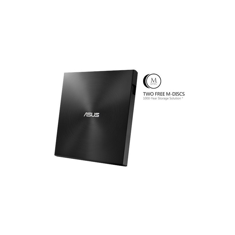 ASUS External Slim SDRW-08U7M-U/BLACK/G/AS, Retail, čierna 90DD01X0-M29000