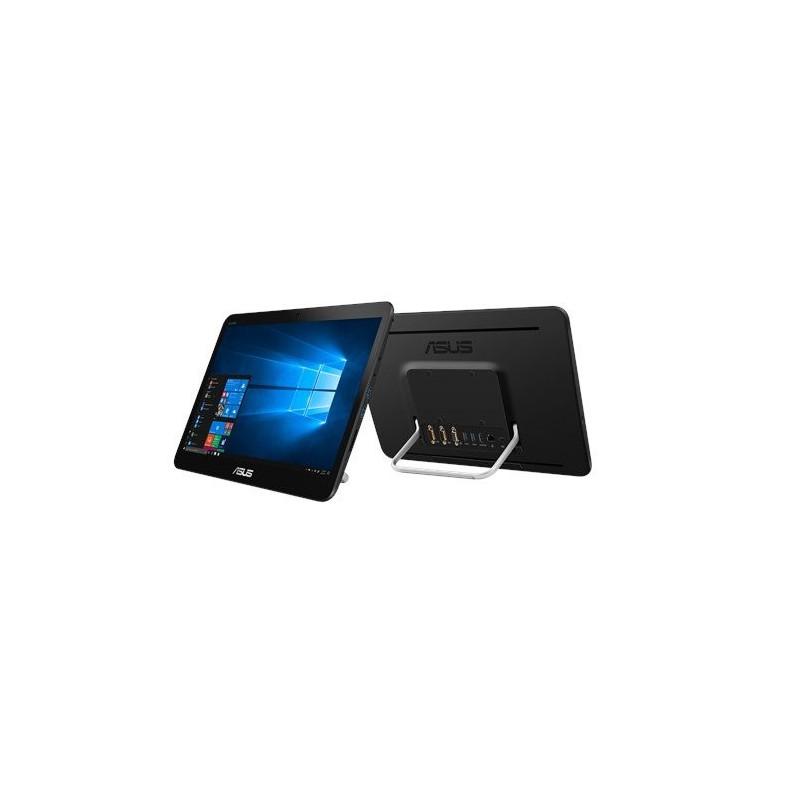 """ASUS AiO V161GAT-BD039D Celeron N4000 (2.6GHz) 15,6"""" HD Touch UMA 4GB 500GB WL BT Cam ENDLESS RS-232 (COM), čierny"""
