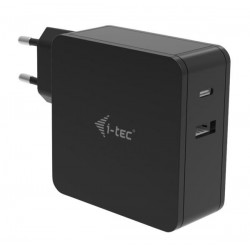 i-tec USB-C CHARGER 60W + USB-A Port 12W CHARGER-C60WPLUS