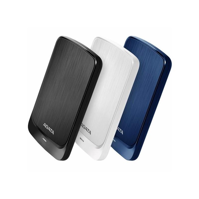 """A-DATA DashDrive™ Value HV320 2,5"""" external HDD 1TB USB 3.1 white AHV320-1TU31-CWH"""