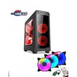 Prestigio Gamer i5-8400 (2,8G) GTX1050Ti 8GB 1TB DVDRW DVI HDMI DP USB3 KLV+MYS W10 64bit PSG848D1T1050W10