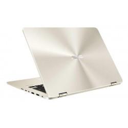"""ASUS Zenbook FLIP 14 UX461FA-E1066T Intel i5-8265U 14"""" FHD Touch leskly UMA 8GB 256 SSD FPR WL BT Cam W10 zlatá"""