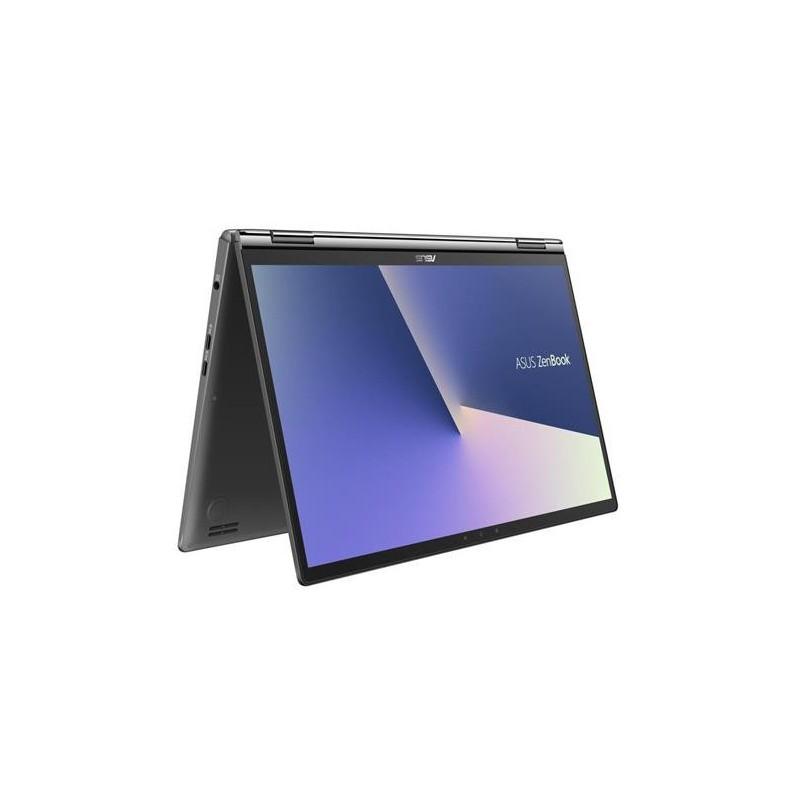 """ASUS Zenbook Flip 13 UX362FA-EL151T Intel i7-8565U 13.3"""" FHD Touch leskly UMA 16GB 512GB SSD WL BT Cam W10 šedý"""