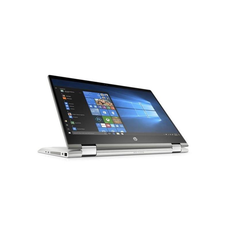HP Pavilion x360 14-cd1001nc, i5-8265U, 14.0 FHD/IPS/Touch, 8GB, SSD 256GB, W10, 2Y, Mineral silver 5QR77EA#BCM