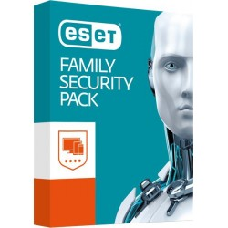 BOX ESET Family Security Pack pre 4 zariadenia / 18 mesiacov FAMILY-SEC-4PC-18M-BOX-2019