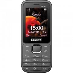 MAXCOM Telefón DUAL Sim MM142 šedý MM142SZ