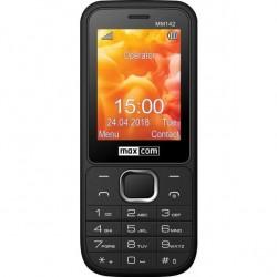 MAXCOM Telefón DUAL Sim MM142 čierny MM142CZ
