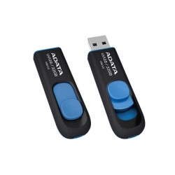 16 GB USB kľúč ADATA DashDrive Classic UV128 USB 3.0, čierno-modrý AUV128-16G-RBE