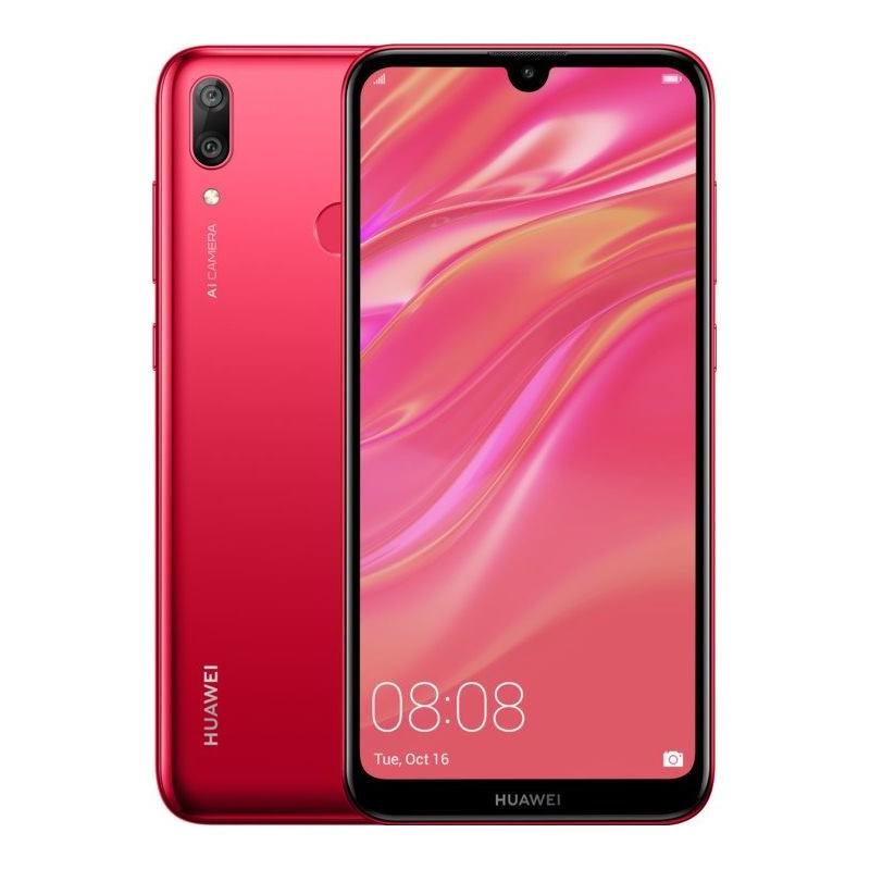 HUAWEI Y7 2019 DUAL Sim 3GB/32GB coral red SP-Y719DSROM