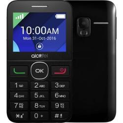 ALCATEL Telefón pre seniorov Black/Black 2008G-3EALCZ1