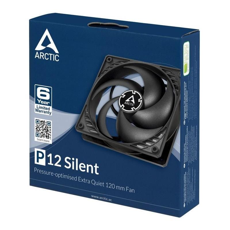 ARCTIC P12 Silent (black/black) ACFAN00130A