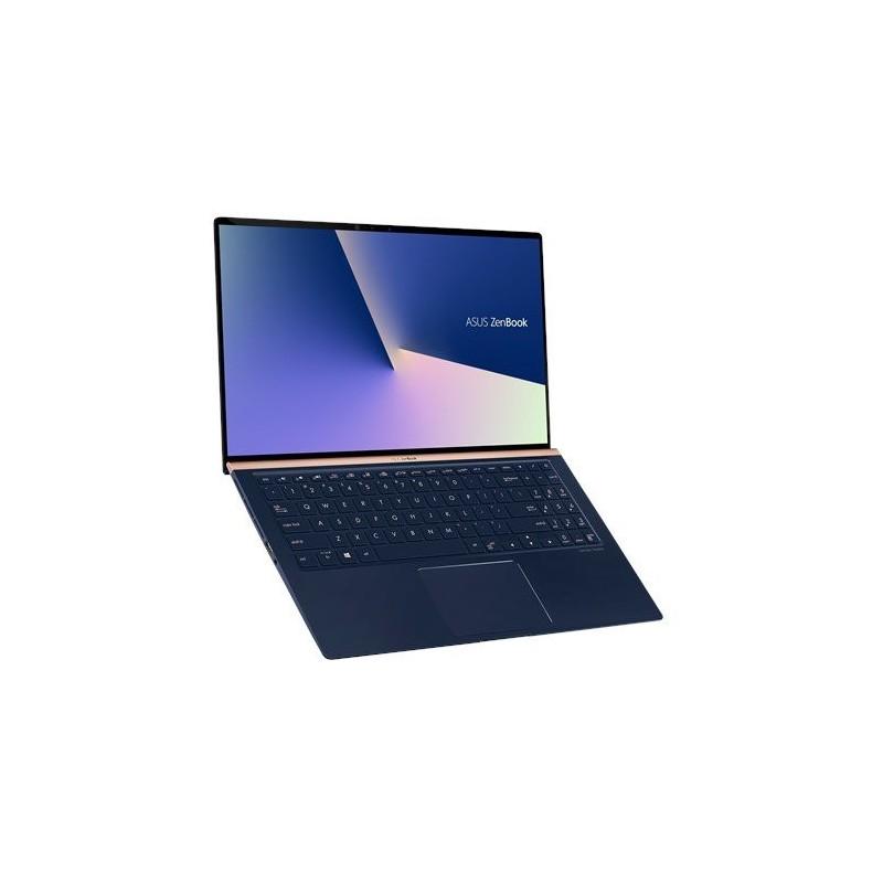 """ASUS Zenbook UX533FD-A8067R Intel i7-8565U 15.6"""" FHD matny GTX1050MaxQ/2GB 16GB 512GB SSD WL BT Cam W10PRO modrý"""